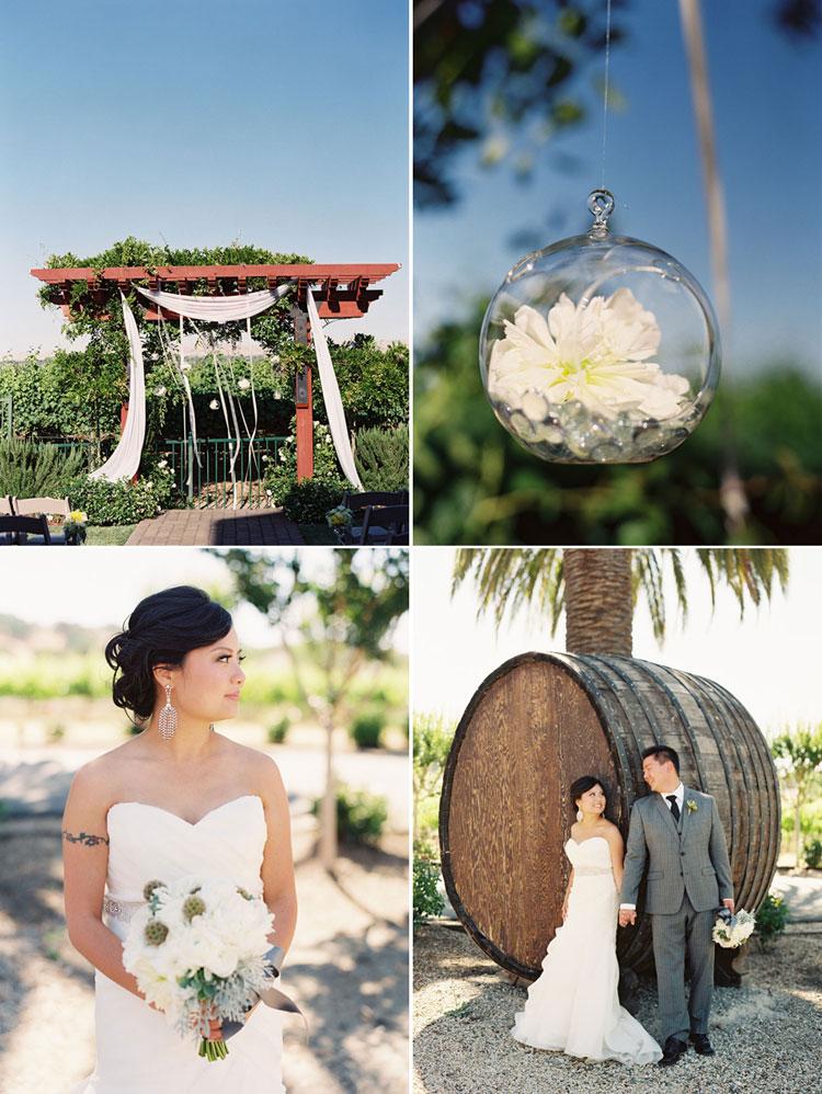 California Winery Wedding Photo 08 Caroline Tran Los Angeles