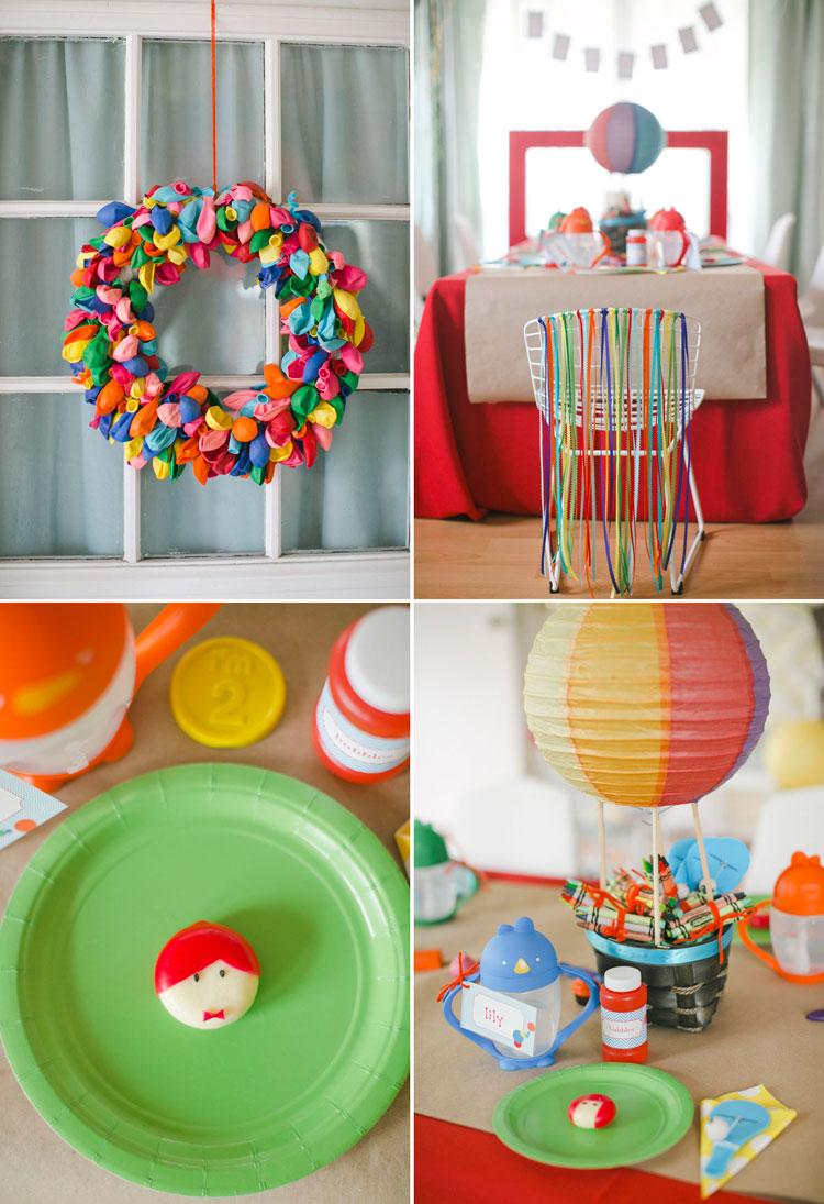 Colorful Birthday Bash