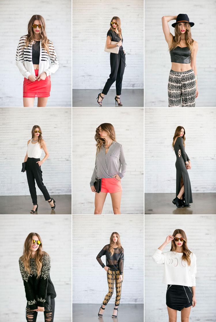 fashion lookbook photography | LUSH clothing - Caroline Tran | Los Angeles Wedding ...