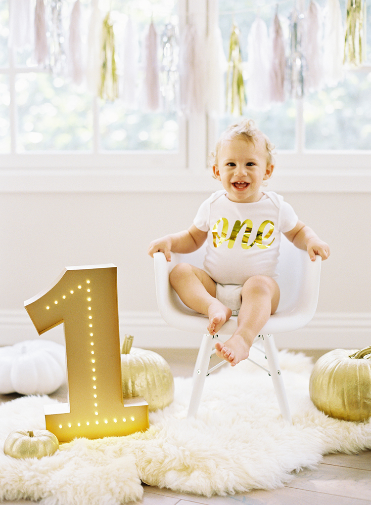 First Birthday Cake Smash Baby Photography