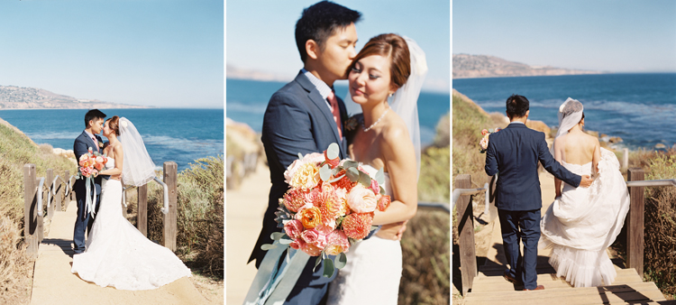 terranea wedding photography by caroline tran