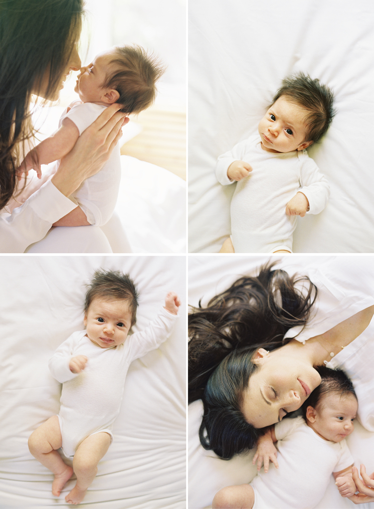 los angeles newborn photography by caroline tran