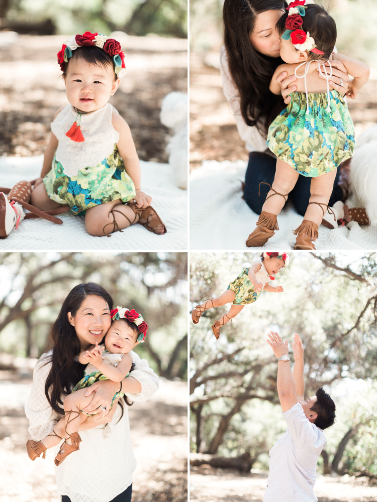 Los Angeles Baby Photographer Caroline Tran
