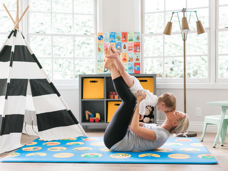 lollaland play mat blue