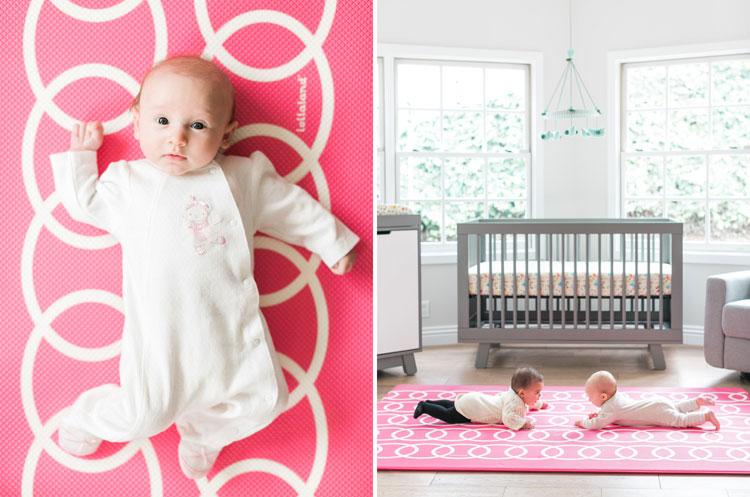 lollaland playmat pink