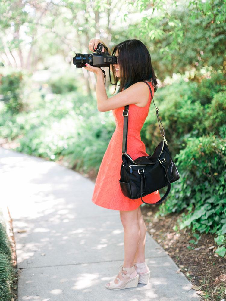 Best camera bag purse aide de camp caroline tran los for Wedding photographer camera bag