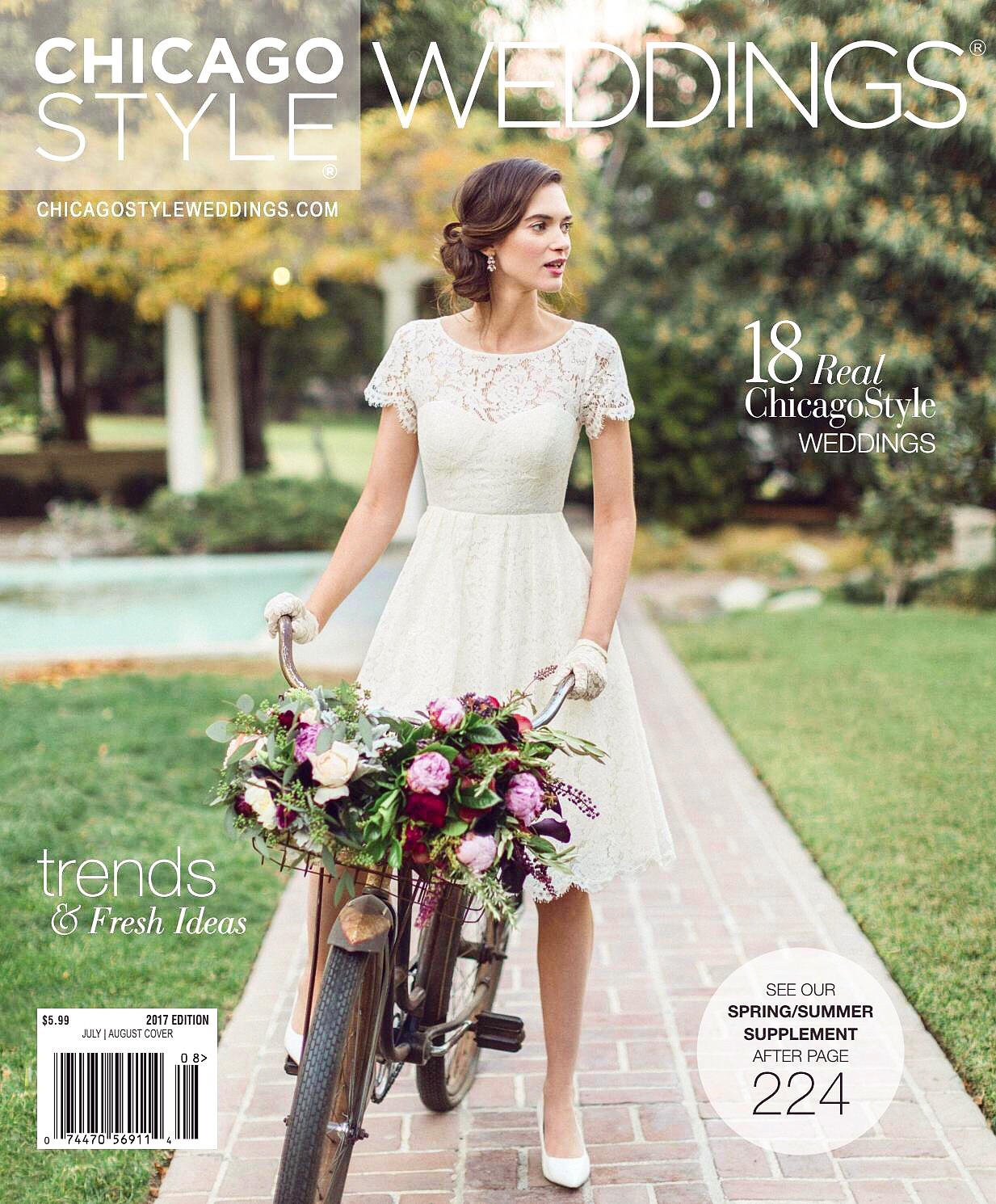 chicago style weddings cover