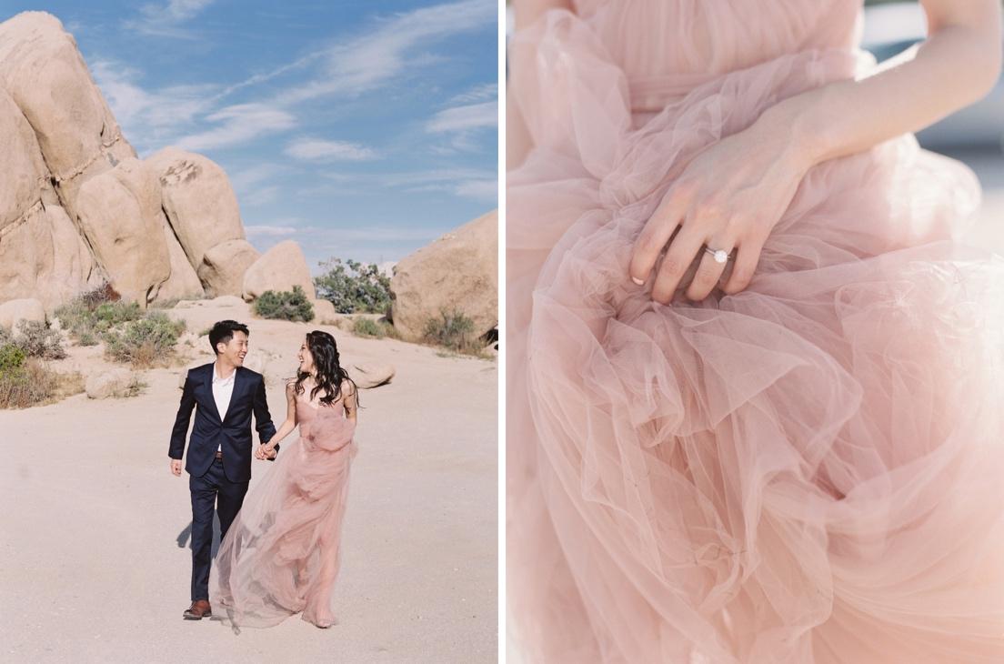 elopement bridal details