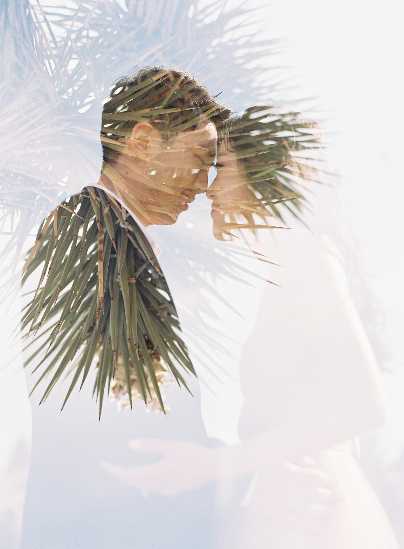 creative wedding portraits california