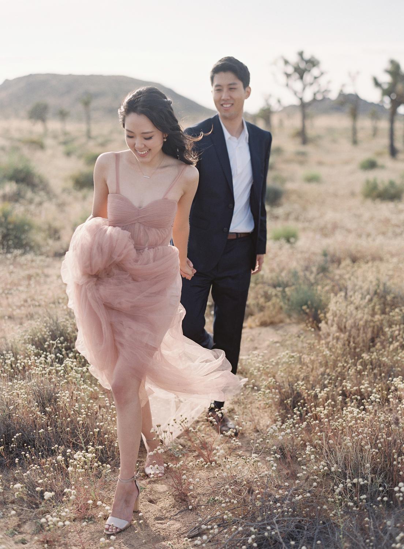 candid california couple