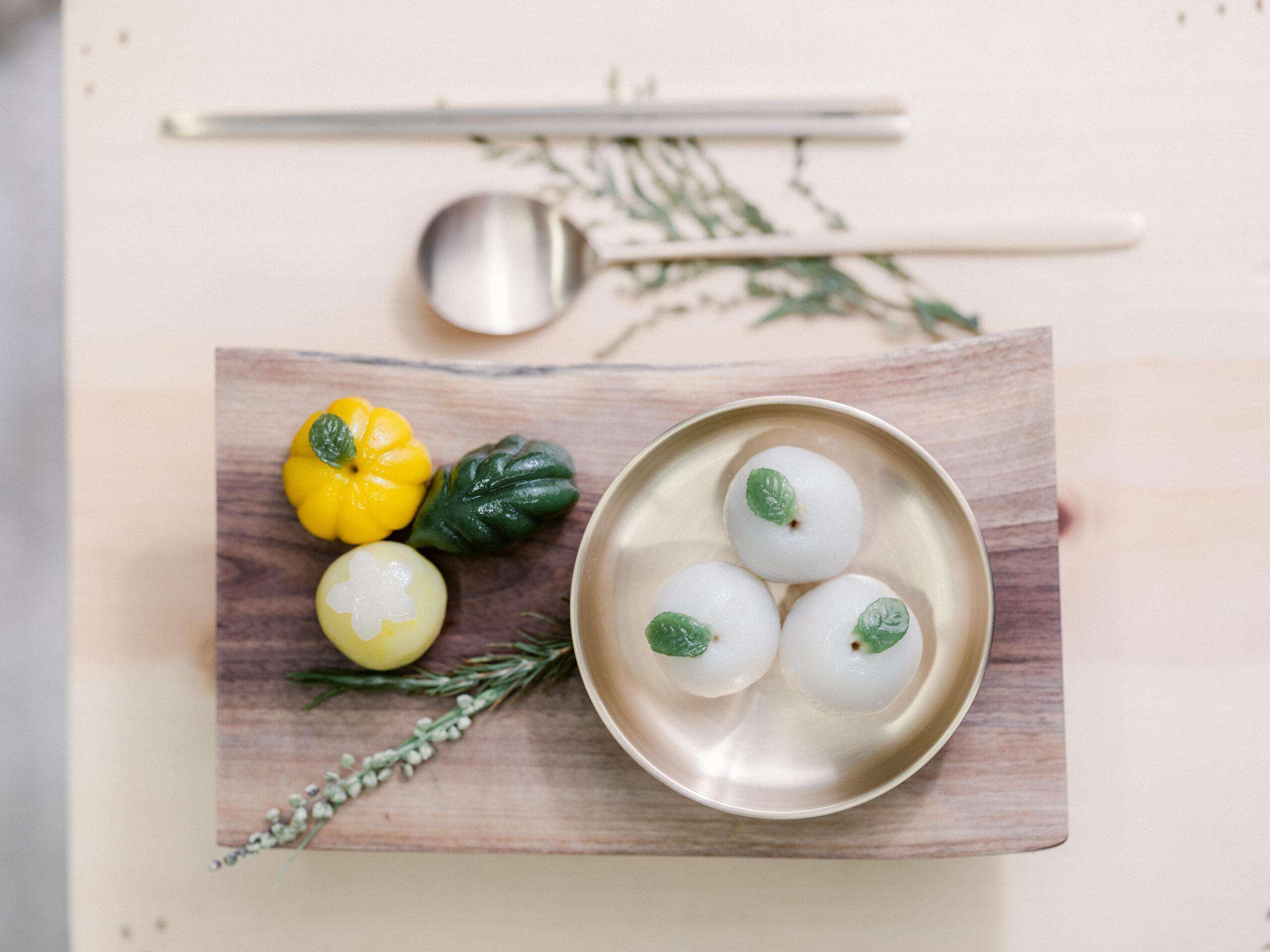 Tteok - Korean rice cake
